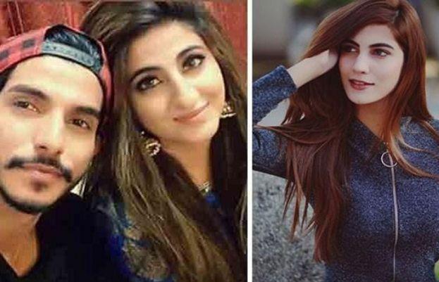 اداکار محسن عباس اور انکی اہلیہ فاطمہ سہیل