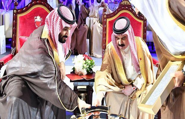 سعودیہ اور بحرینی حکمران