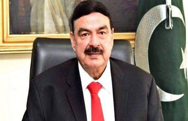 وزیر داخلہ شیخ رشید
