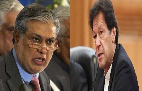 عمران خان کی معاشی ٹیم قوم کو گمراہ کر رہی ہے، اسحاق ڈار نے اعداد و شمار پیش کر دیئے