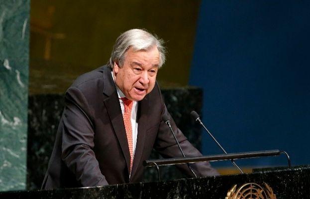 اقوام متحدہ کے سیکرٹری جنرل انتونیو گوتریز