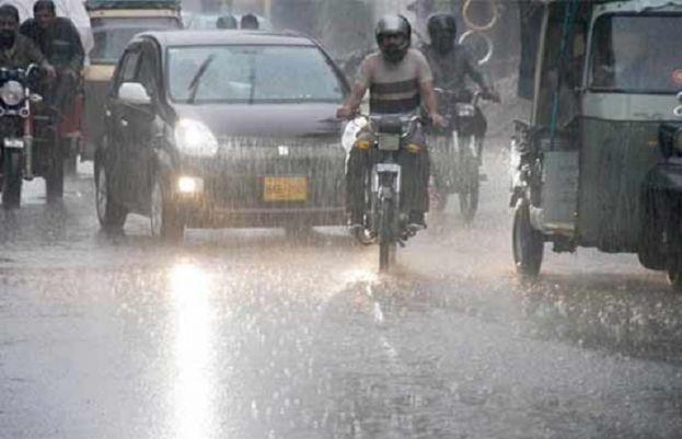 کراچی بارش