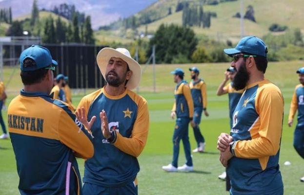 پاکستان کرکٹ اسکواڈ کی نیوزی لینڈ کے شہر کوئنز ٹاون میں بھرپور تیاریاں جاری ہیں۔