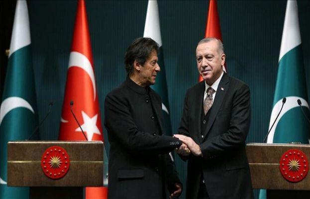 ترک صدر اور وزیر اعظم عمران خان