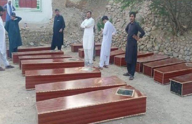کوہاٹ سے 16 لاشوں کی باقیات برآمد