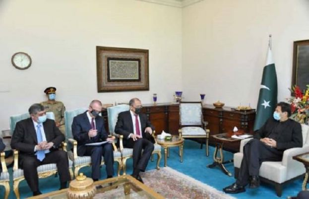 وزیراعظم عمران خان سے روسی وزیرخارجہ سرگئی لاروف اسلام آباد میں ملاقات کر رہے ہیں