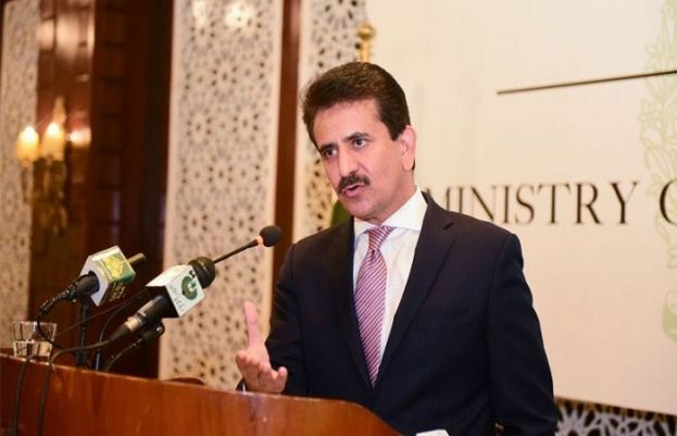 ترجمان دفتر خارجہ زاہد حفیظ چوہدری