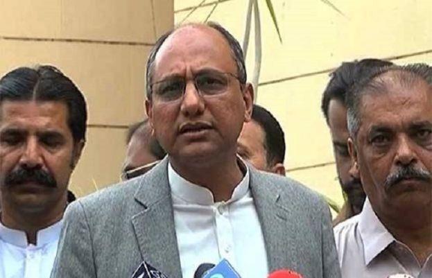 صوبہ سندھ کے وزیر تعلیم و محنت سعید غنی