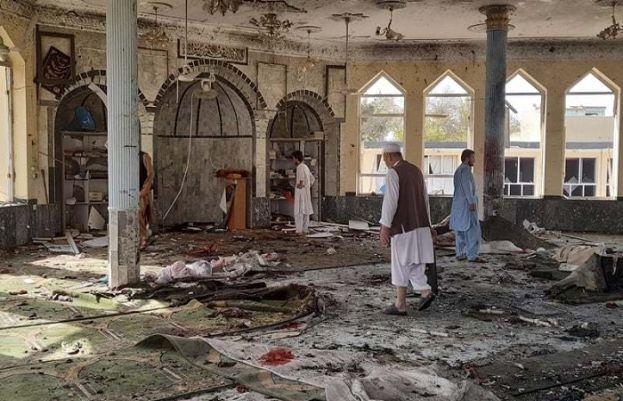 افغانستان کے صوبہ قندوز میں نماز جمعہ کے دوران مسجد میں دھماکا