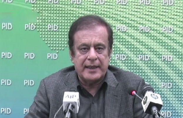 وفاقی وزیر اطلاعات و نشریات شبلی فراز