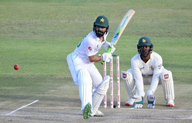 ہرارے ٹیسٹ: پاکستان پہلی اننگز میں 426 رنز پر آؤٹ