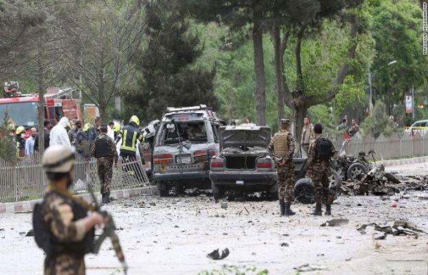کابل میں خودکش دھماکے کے نتیجے میں 8 افراد جاں بحق اور 6 زخمی