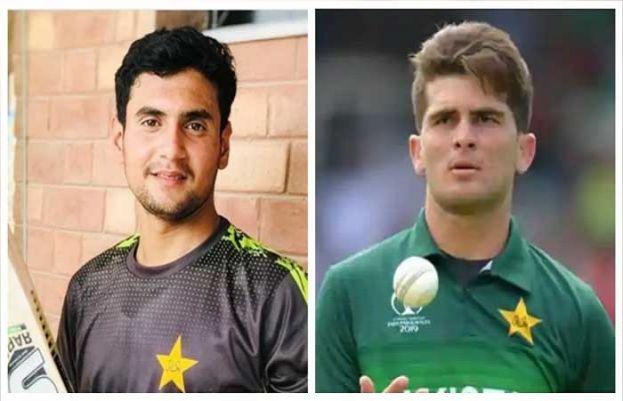 پاکستانی کرکٹ ٹیم کے نوجوان بیٹسمین حیدر علیاور فاسٹ بولرشاہین شاہ آفریدی