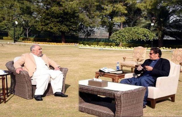 وزیراعظم عمران خان اور اسپیکر قومی اسمبلی اسد قیصر