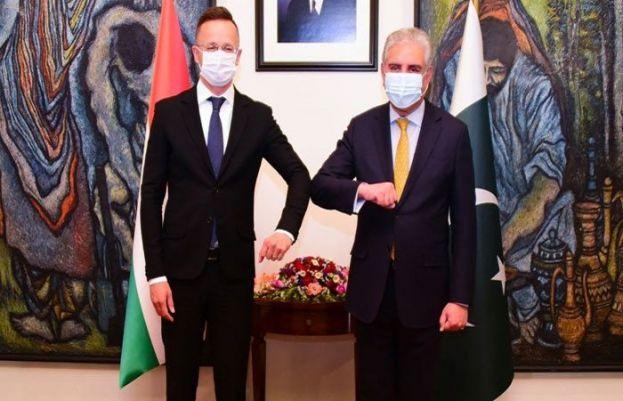 وزیر خارجہ شاہ محمود قریشی سے ہنگری کے وزیر خارجہ کی ملاقات
