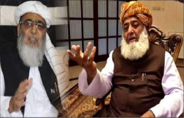 حافظ حسین احمد اور فضل الرحمان