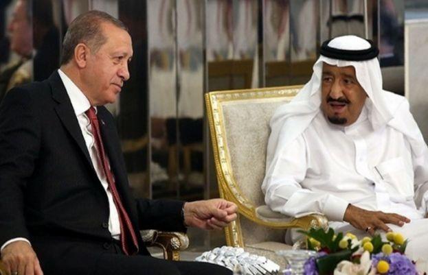 شاہ سلمان اور ترک صدر