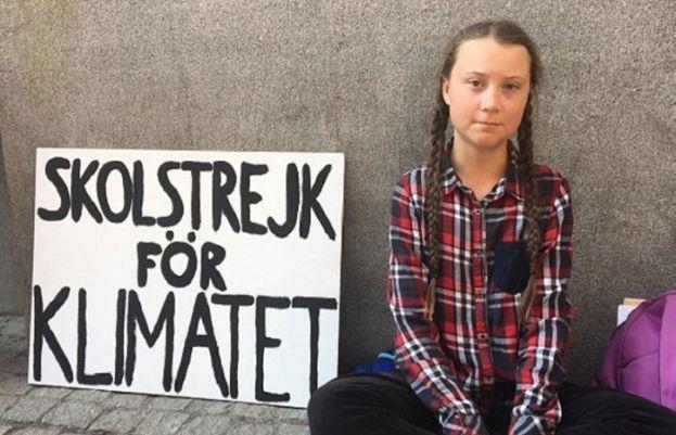 گریتا تھنبرگ نے اسکول سے احتجاج کا آغاز کیا