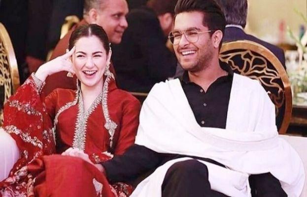 عاصم اظہر اور ہانیہ عامر