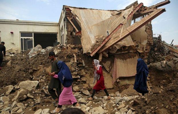 افغانستان میں سیلاب کی تباہ کاریاں جاری