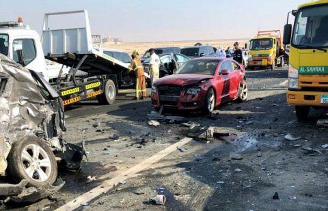 دبئی کے علاقے میں خوفناک ٹریفک حادثہ پیش آگیا، جانیے تفصیلات