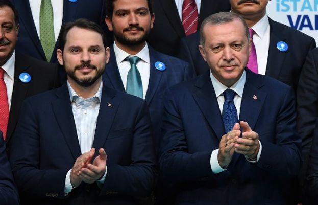 ترک صدر کے داماد وزیر خزانہ کے عہدے سے مستعفی ہوگئے