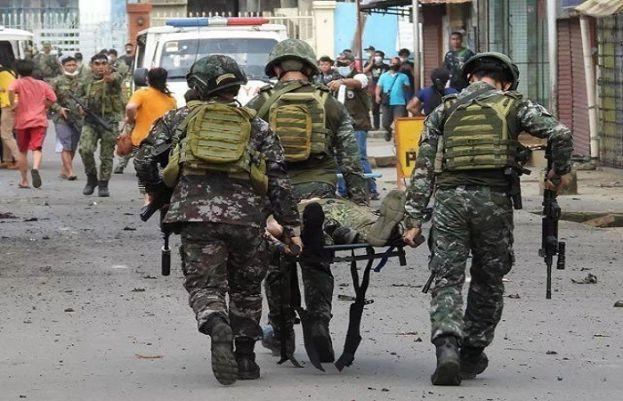 فلپائن کا جنوبی شہر جولو دھماکوں سے گونج اٹھا،،یکے بعد دیگرے دو دھماکوں گیارہ افردا ہلاک جبکہ متعدد زخمی ہوگئے۔