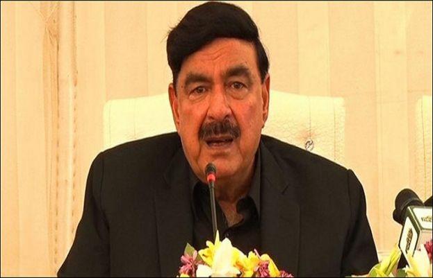 وفاقی وزیر داخلہ شیخ رشید احمد