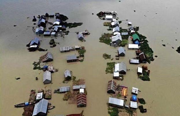 بنگلہ دیش میں بارشوں نے مچا دی تباہی