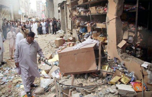کراچی، سلنڈر دھماکے سے 3افراد جاں بحق