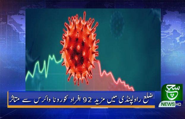 کورونا وائرس راولپنڈی میں
