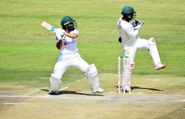 ہرارے ٹیسٹ کے دوسرے روز پاکستان کی بیٹنگ جاری، 3 وکٹوں کے نقصان پر 212 رنز بنا لیے
