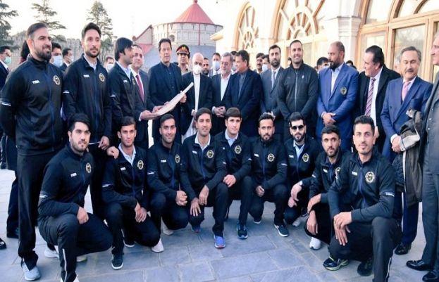 افغان کرکٹ ٹیم  کی وزیراعظم سے ملاقات