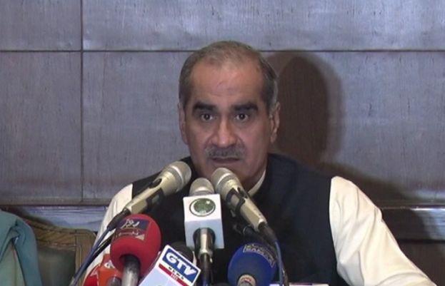پاکستان مسلم لیگ (ن) کے رہنما اور سابق وزیر ریلوے خواجہ سعد رفیق