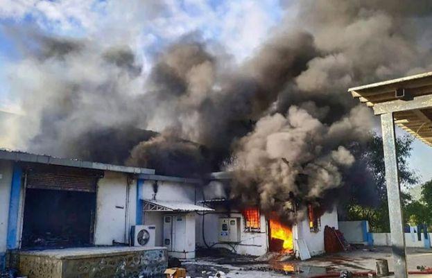 بھارت، کیمیکل فیکٹری میں آگ لگنے سے 18 افراد ہلاک
