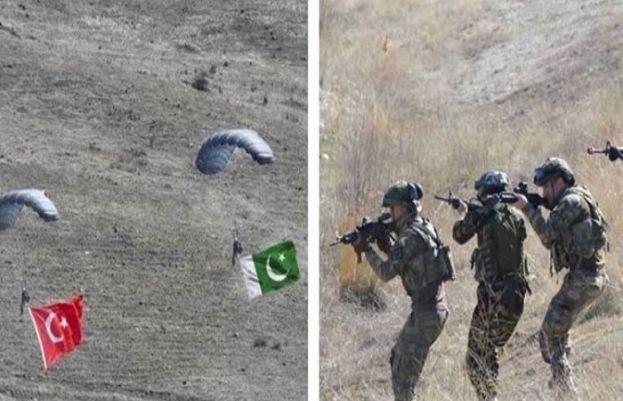پاکستان اور ترکی کی مشترکہ فوجی مشقیں اتاترک الیون