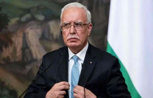 فلسطین کے وزیرخارجہ ریاض المالکی