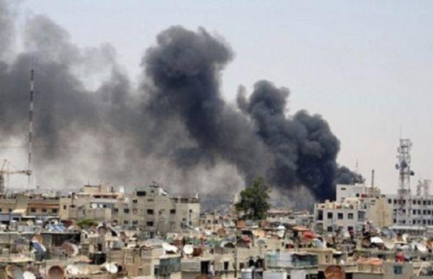 اسرائیلی بمباری میں گیارہ افراد ہلاک ہو گئے۔