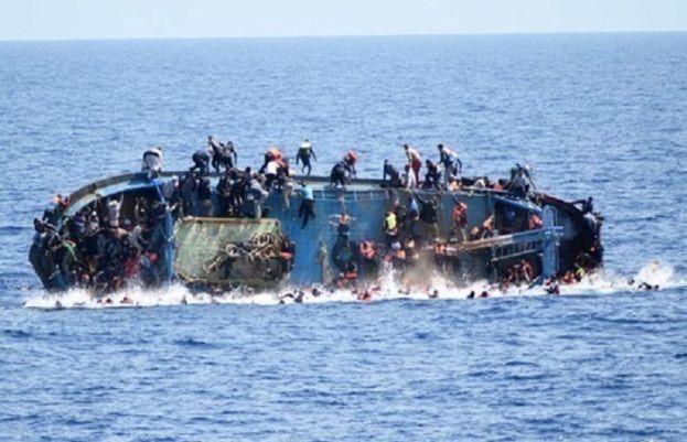بحیرہ روم میں اسپین جانے والے تارکین وطن کی کشتی ڈوب گئی جس کے نتیجے میں 45 تارکین وطن ہلاک ہو گئے