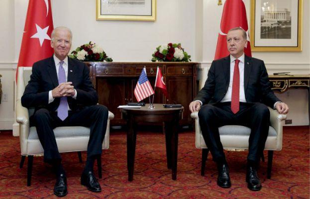 ترک صدر رجب طیب اردوان اور امریکی صدر جوبائیڈن