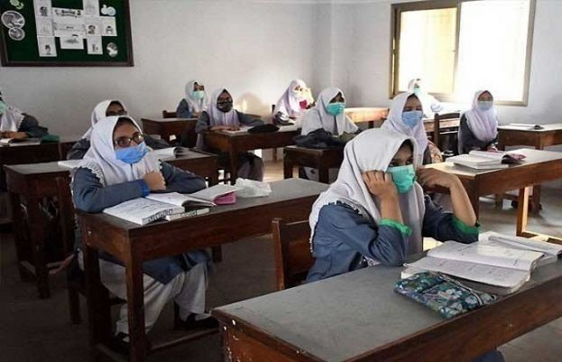سندھ میں آٹھویں جماعت تک کلاسز معطل کر نے کا فیصلہ کر دیا ہے