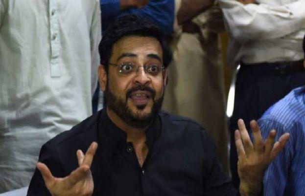 پاکستان تحریک انصاف کے رکن قومی اسمبلی عامر لیاقت