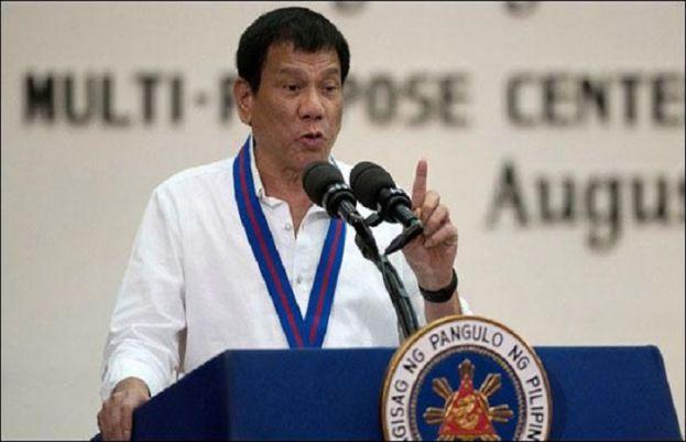 فلپائن کے صدر روڈریگو ڈوور