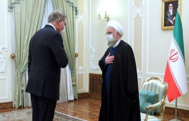 ایرانی صدر سے وزیرخارجہ شاہ محمود کی ملاقات