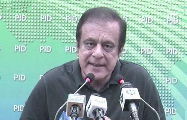 وفاقی وزیر اطلاعات و نشریات سینیٹر شبلی فراز