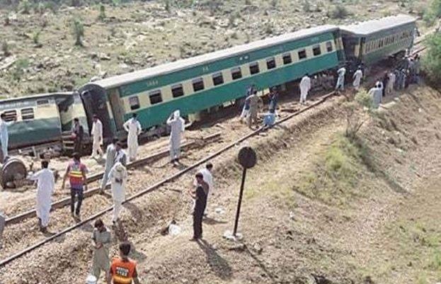 ٹرین حادثے کے بعد ریسکیو آپریشن مکمل، ٹریک کی بحالی کا کام جاری