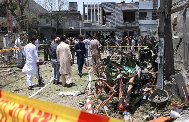 جوہرٹاؤن دھماکہ میں گاڑی کھڑی کرنے والاملزم راولپنڈی سےگرفتار