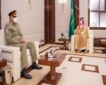 جنرل قمر جاوید باجوہ کی سعودی ولی عہد سے ملاقات، خطے میں قیام امن  پر بھی تبادلہ خیال